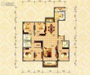 国色天襄4室2厅3卫235平方米户型图