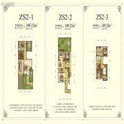 锦联上水溪谷3室2厅3卫349平方米户型图