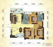 冠亚・国际星城2室2厅2卫106平方米户型图