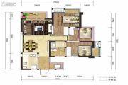 融创凯旋东岸3室2厅1卫77平方米户型图