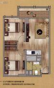 中鼎・君和名城2室1厅1卫86平方米户型图