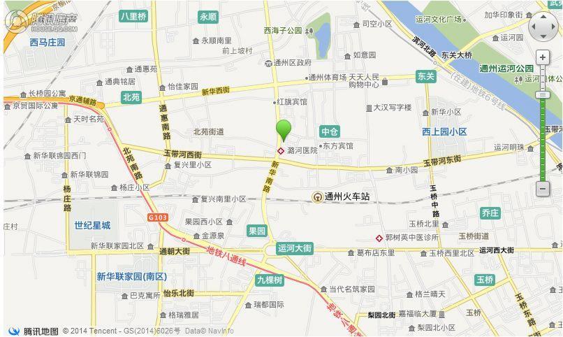 潮白新城交通图