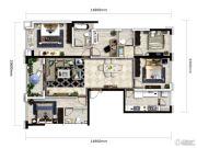 万科银海泊岸5室2厅3卫141平方米户型图