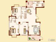 锦绣清江3室2厅2卫0平方米户型图