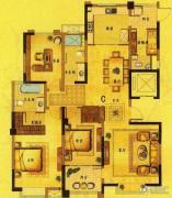 风尚米兰4室2厅3卫168平方米户型图
