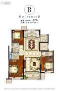 海亮滨河壹号3室2厅2卫0平方米户型图