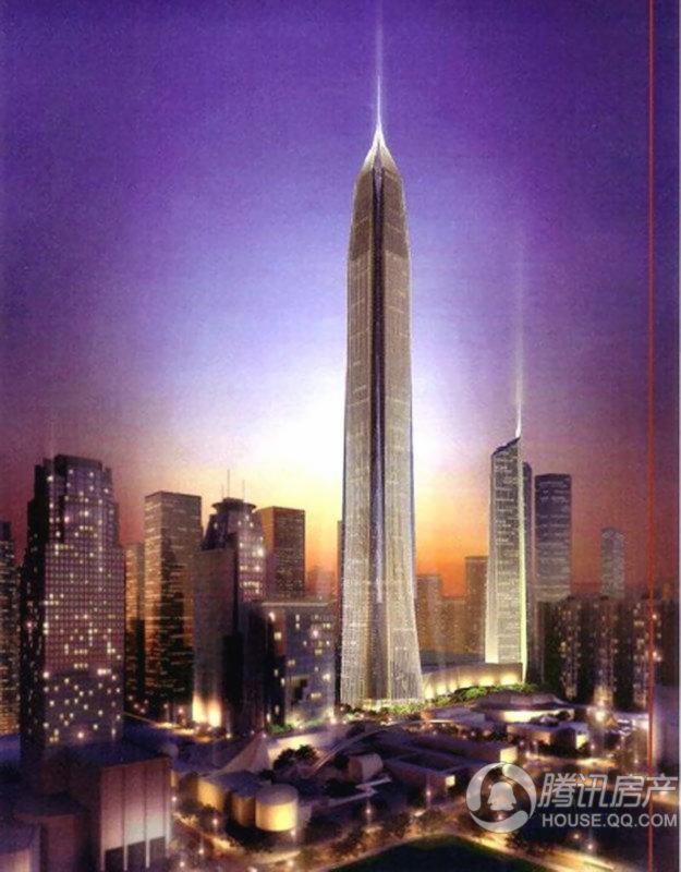 平安国际金融中心大厦平安国际金融中心大厦夜景效