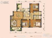 奥克斯缔壹城3室2厅2卫132平方米户型图