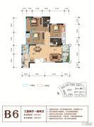 天立香缇华府3室2厅2卫110--122平方米户型图