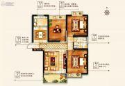 物华澜菲溪岸3室2厅1卫114--116平方米户型图