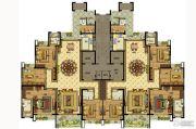 雅居乐滨江国际5室3厅4卫250平方米户型图
