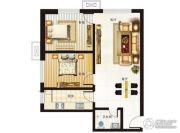 海鸿居然之家2室2厅1卫0平方米户型图