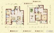中南明珠4室3厅3卫155平方米户型图