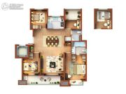 菩悦花苑4室2厅2卫0平方米户型图