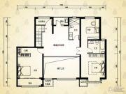 英泰・山海听涛2室1厅2卫0平方米户型图