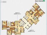 奥园合创新城157--165平方米户型图