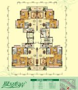 天鹅湾3室2厅2卫84--116平方米户型图