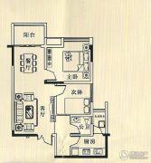 华诚都汇2室2厅1卫0平方米户型图