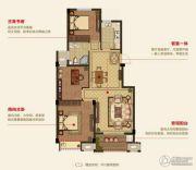 明月湾3室2厅1卫108平方米户型图
