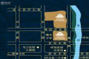 兴泰东河湾交通图