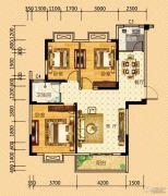 河畔春秋二期・碧水雅居3室2厅1卫103平方米户型图