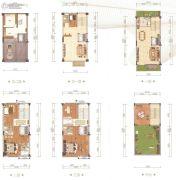 天睿5室3厅4卫120平方米户型图