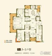 华富世家4室2厅5卫333平方米户型图