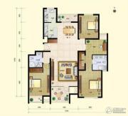 8哩岛4室2厅2卫162平方米户型图