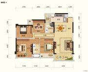 路桥锦绣国际6室2厅2卫143平方米户型图