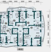 滨江国际商城0平方米户型图