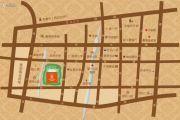 书香门邸交通图