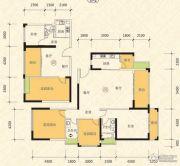 恒怡湾3室2厅2卫138平方米户型图