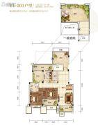 芙蓉万国城MOMA0室0厅0卫137平方米户型图