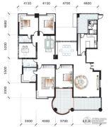 海逸一号5室3厅3卫319平方米户型图