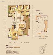泰禾江山美地5室2厅3卫236平方米户型图