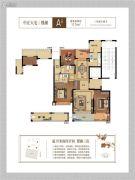 融信宋都南山府3室2厅2卫115平方米户型图