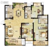 绿地国际博览城3室0厅0卫125平方米户型图