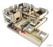 裕和天地5室3厅4卫319平方米户型图