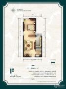 公园6号1室1厅1卫64平方米户型图