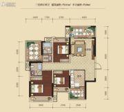 联发柳雍府3室2厅2卫111平方米户型图