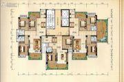 兴业花园3室2厅2卫115平方米户型图