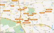 纳金商业街交通图