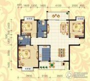 城市绿岛3室2厅2卫126平方米户型图