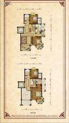 香蜜园・蜜园4室2厅3卫182平方米户型图