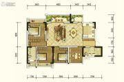 北京城建龙樾熙城4室2厅2卫122平方米户型图