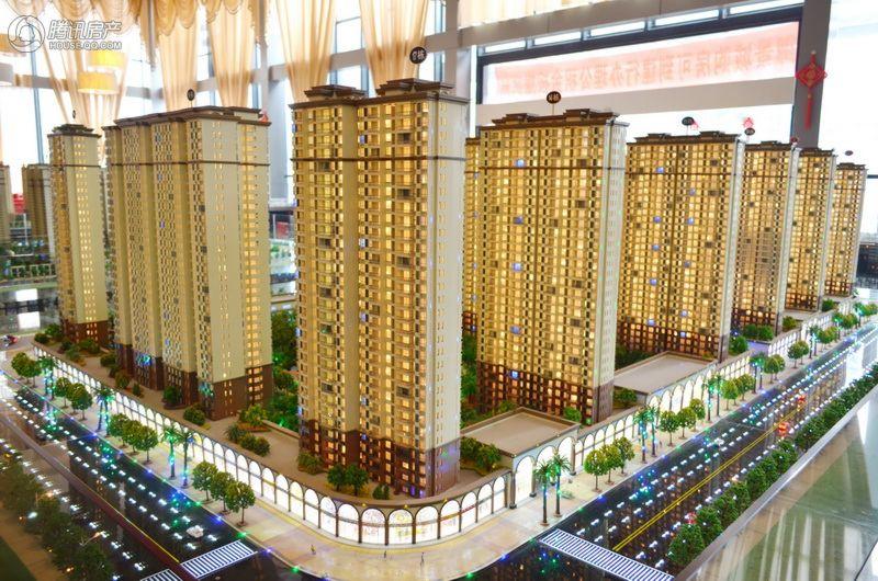 御景城3期规划沙盘20150216