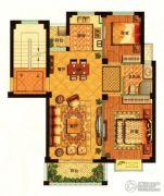 秀山菜市场2室2厅1卫82平方米户型图