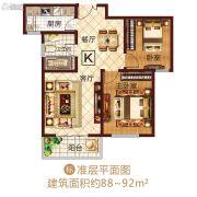 龙之光・国际中心2室2厅1卫0平方米户型图