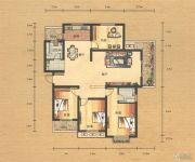 奥园康城4室2厅2卫161平方米户型图