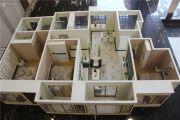 山河万里3室2厅2卫125--128平方米户型图